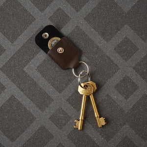 Debonaire Leather Key Ring Coin Holder