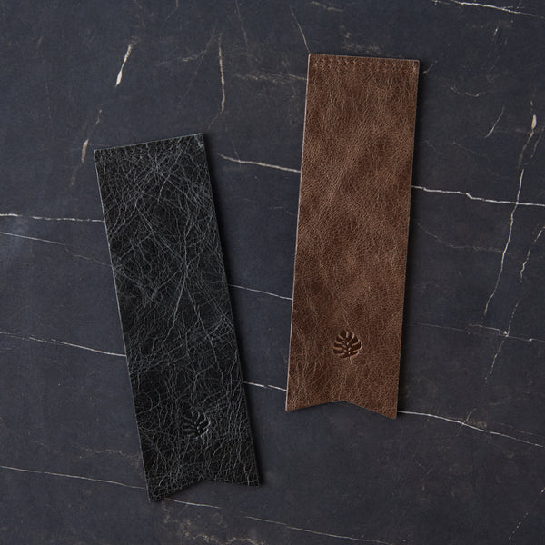 Debonaire Vintage Leather Bookmark