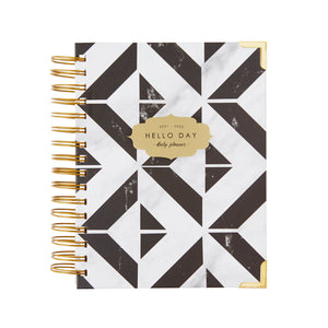 2021 - 2022 Mid Year Daily Planner: TILE