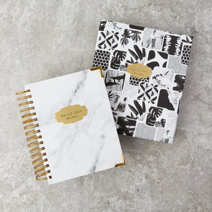 2021 - 2022 Mid Year Daily Planner: CARRARA