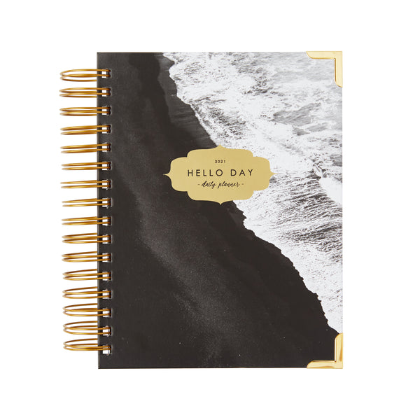 MINIMAL 2021 Daily Planner: TIDE