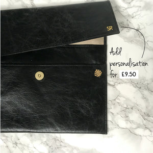 Luxury Leather Planner Cover