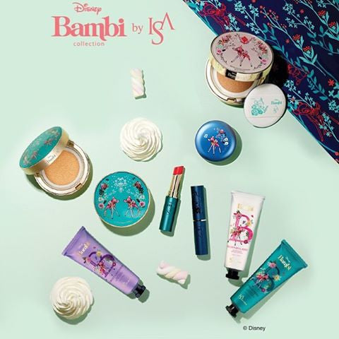 [ISA KNOX] x Bambi Collaboration Micro Foam Cushion