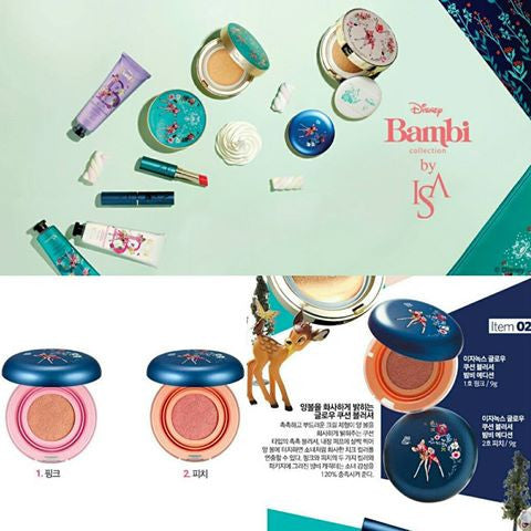 [ISA KNOX] x Bambi Collaboration Glow Cushion Blusher