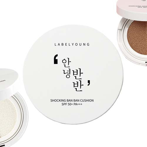 [LABELYOUNG] Shocking Ban Ban Cushion SPF50+/PA+++
