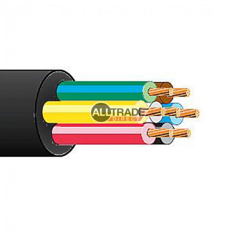 7 core thin wall cable