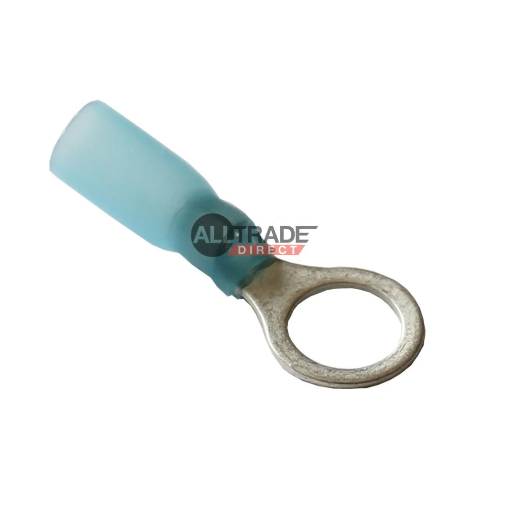 blue heatshrink ring terminals
