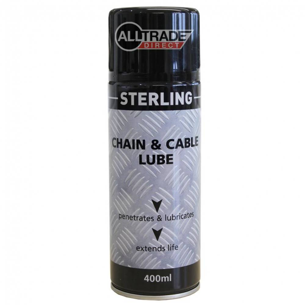 chain and cable lube aerosol