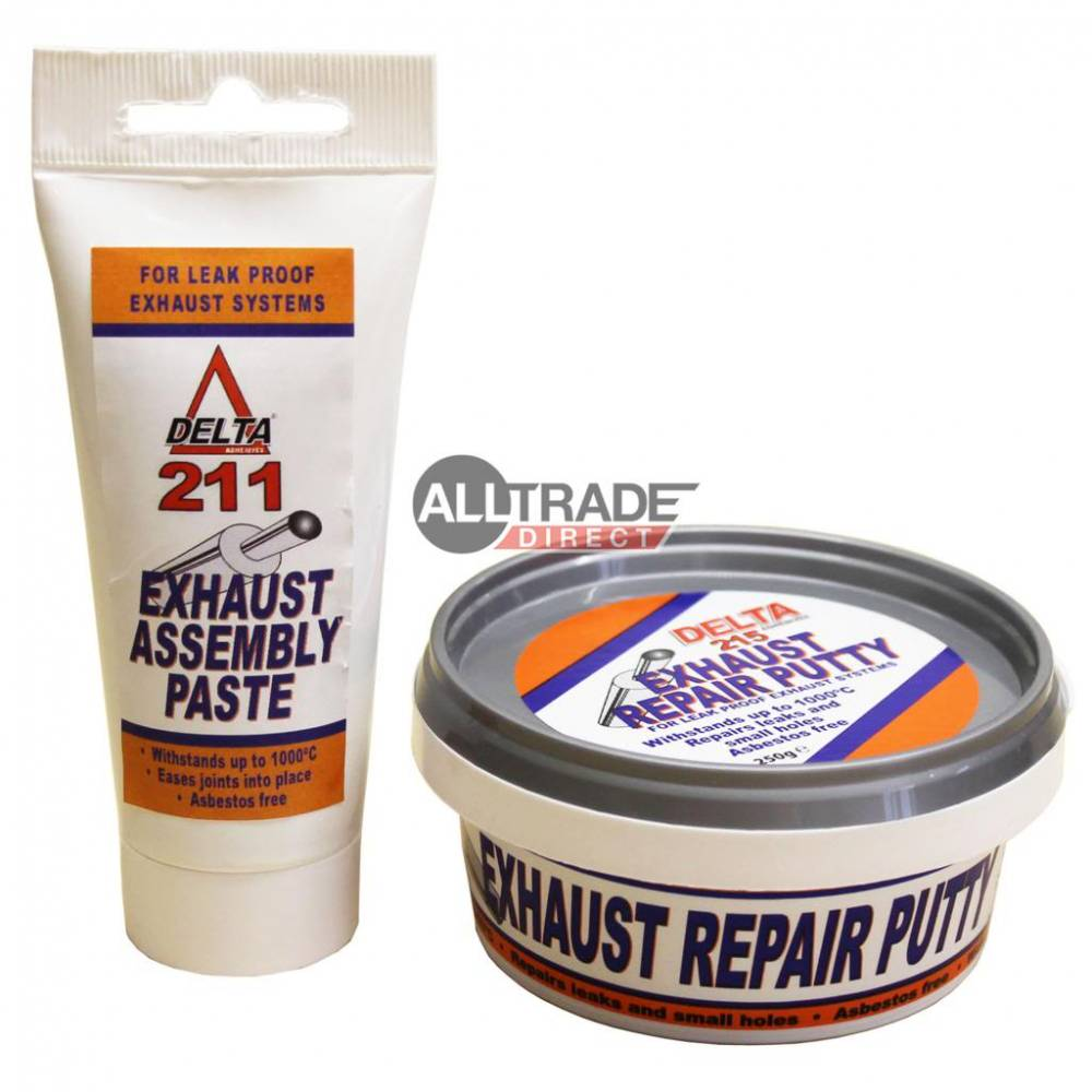 Delta Exhaust Assembly Paste Tube & Repair Putty Tub