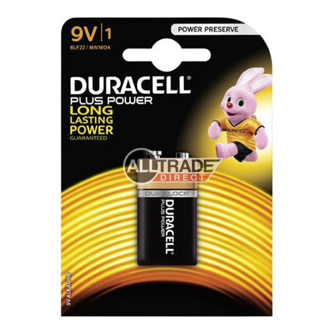 duracell 9v batteries