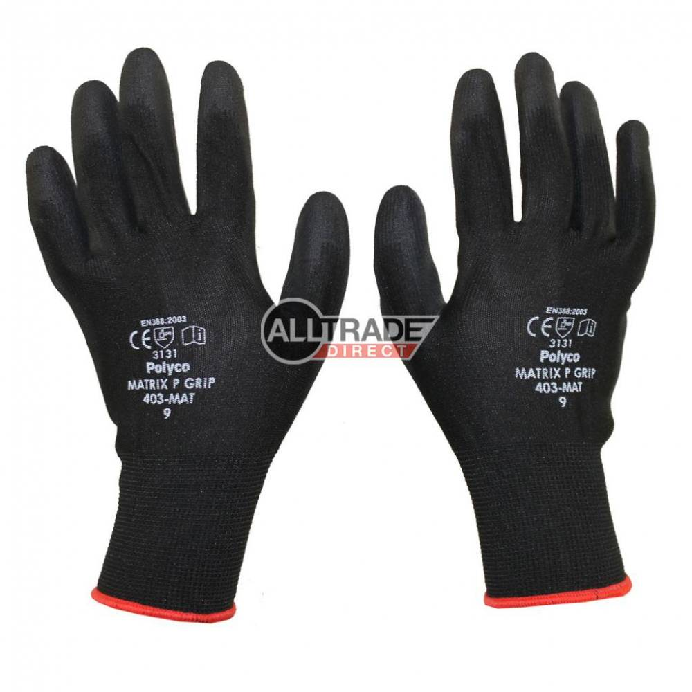 polyco matrix pu gloves