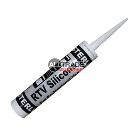 Black RTV Silicone Sealant Cartridge 300ml