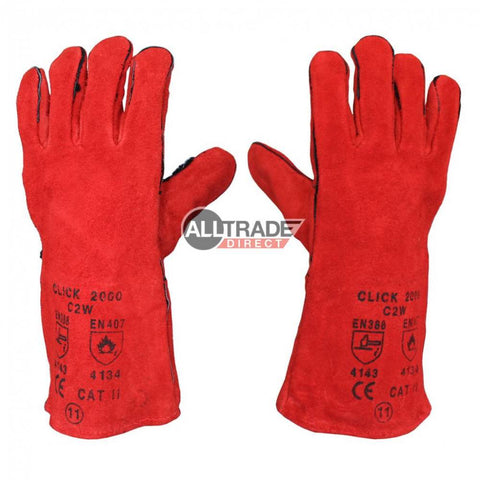 welding gauntlet gloves