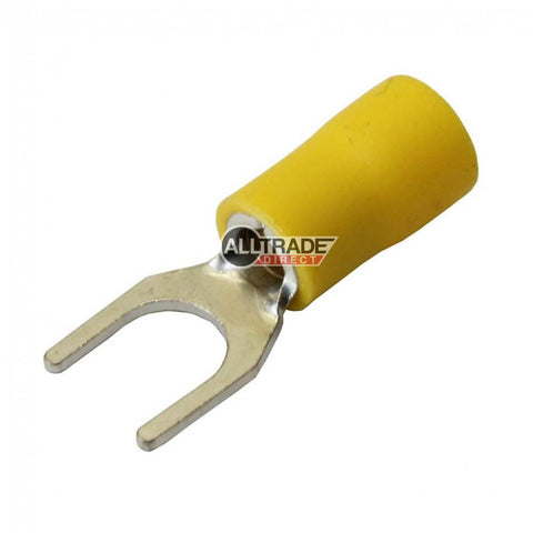 yellow fork crimp terminals