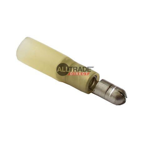 yellow heatshrink male bullet terminals