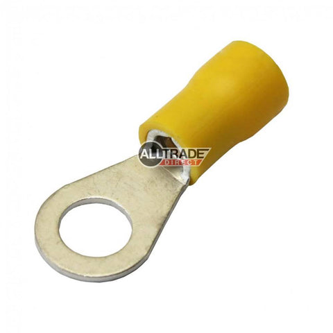 yellow ring crimp terminal