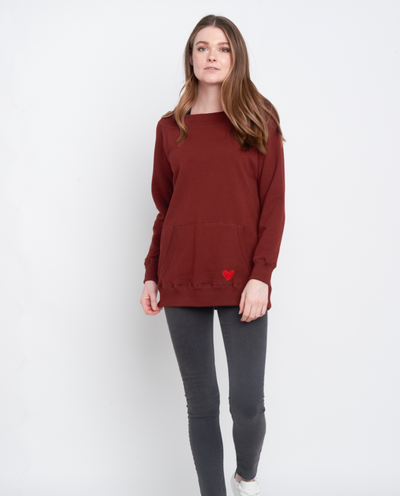 Cadenza Off Shoulder Sweatshirt