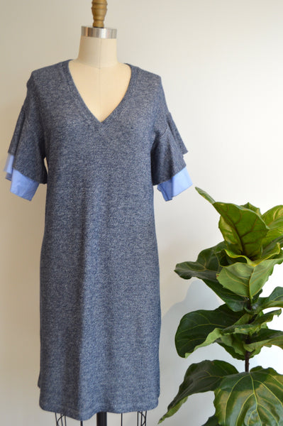 Sample 58 - Charo Mini Dress in Navy