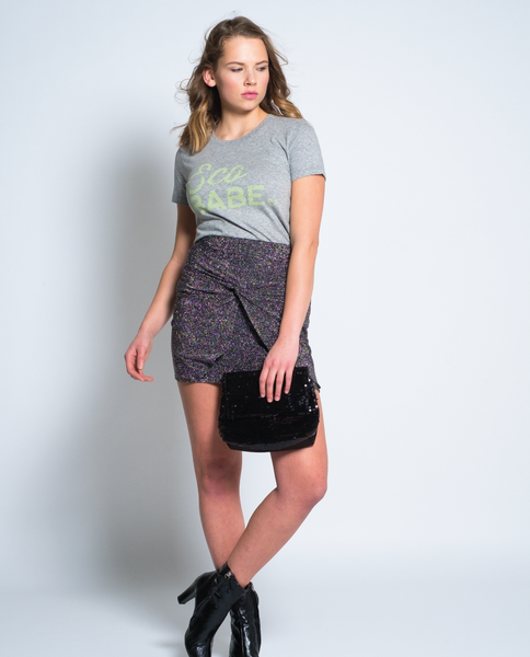 Eco Babe Tee in Grey
