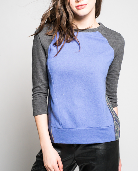 Gabrielle Sweatshirt in Charcoal