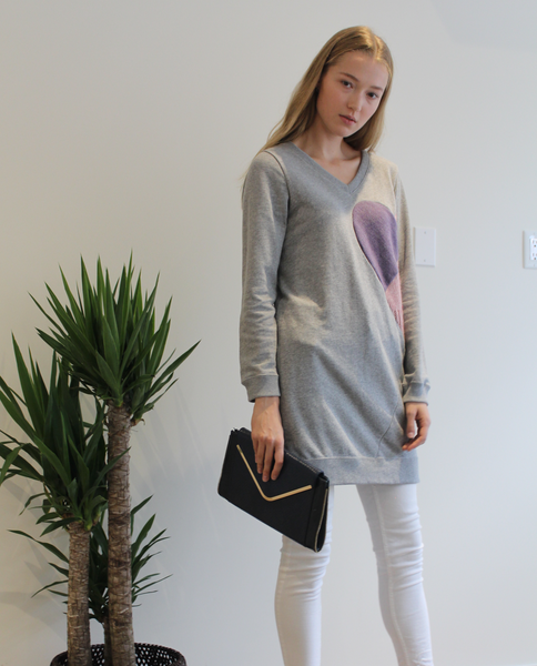 Gianna Tunic in Grey