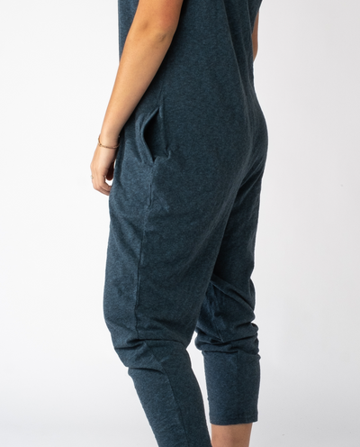Ginger Jumpsuit in Indigo Mix