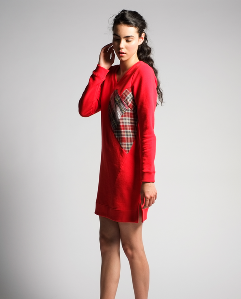Sadie Tunic in Red