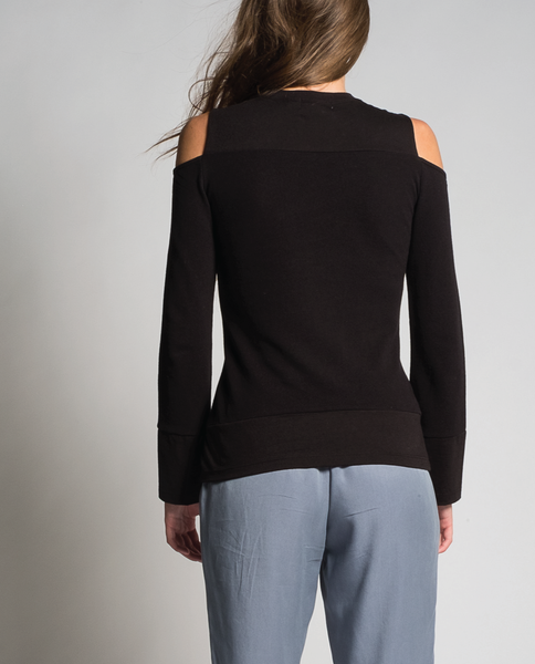 Jamia Top in Black