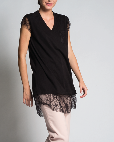 Jamilia Tunic in Black