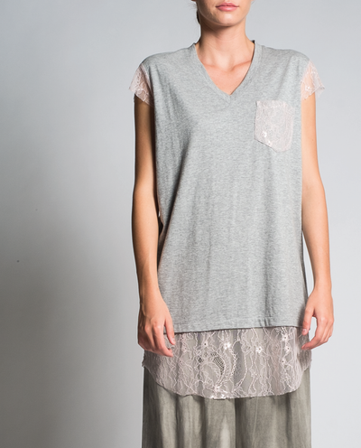 Jamilia Tunic in Grey