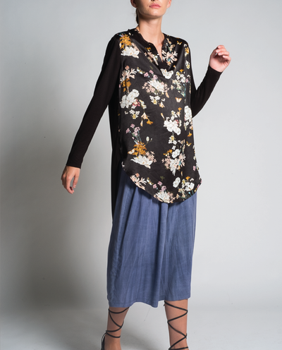 Kadira Tunic in Black