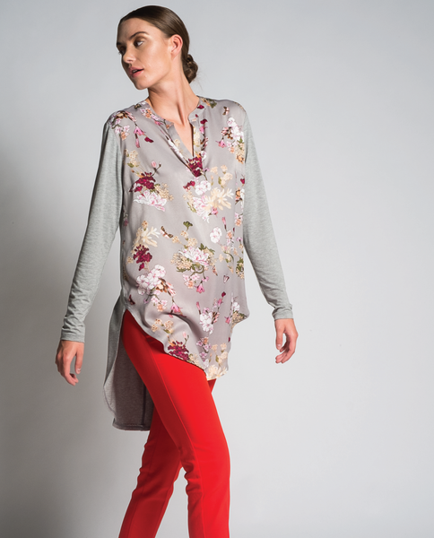 Kadira Tunic in Grey