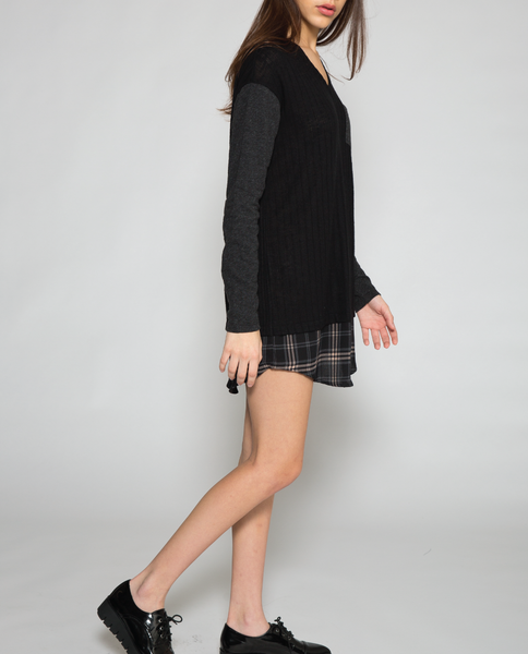 Laney Mini Dress in Black