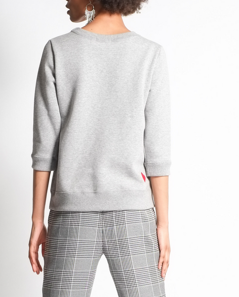 Lavanda Sweatshirt in Grey Mix