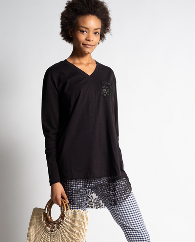 Mya Tunic in Black