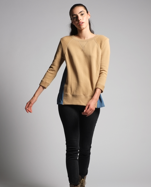 Neaveh Sweatshirt in Beige