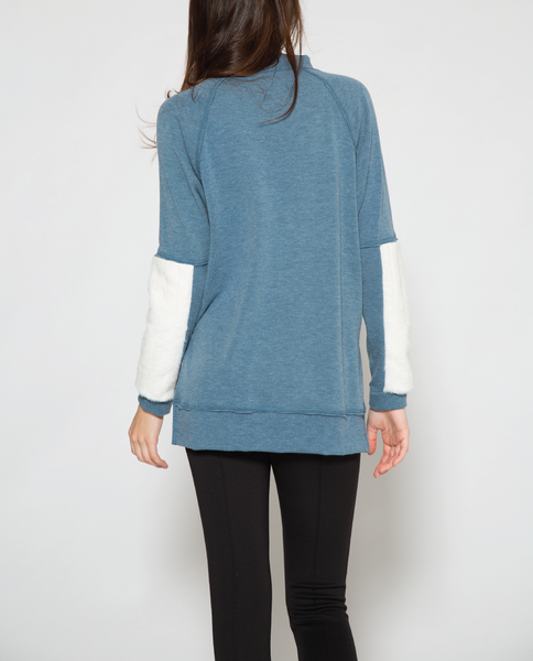 Paz Top in Blue
