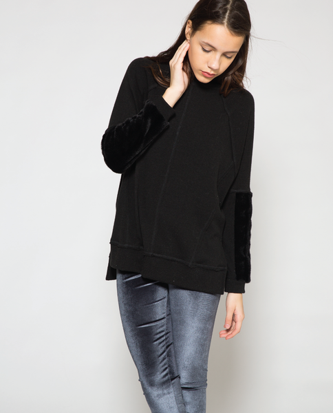 Paz Top in Black