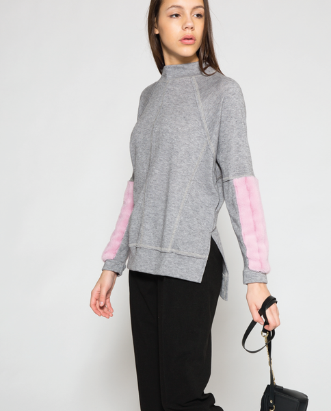 Paz Top in Grey