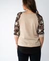 Penelope top in Beige