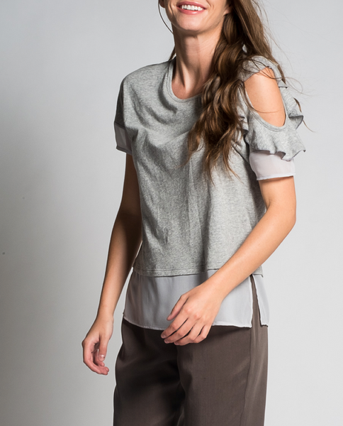 Rachel Top in Grey