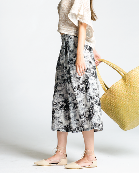 Southern Wind Culottes in Leaf