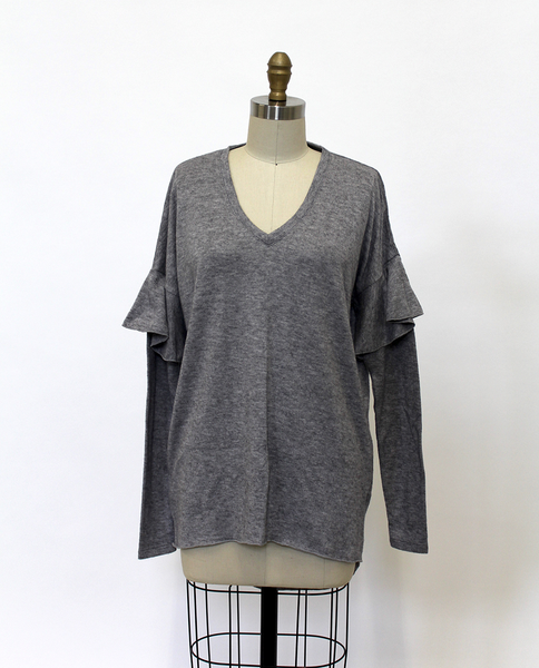 Samantha Top in Grey