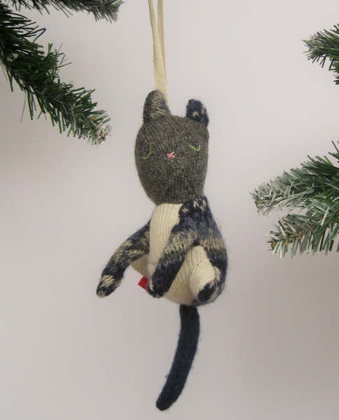 SLO - Cat Ornament