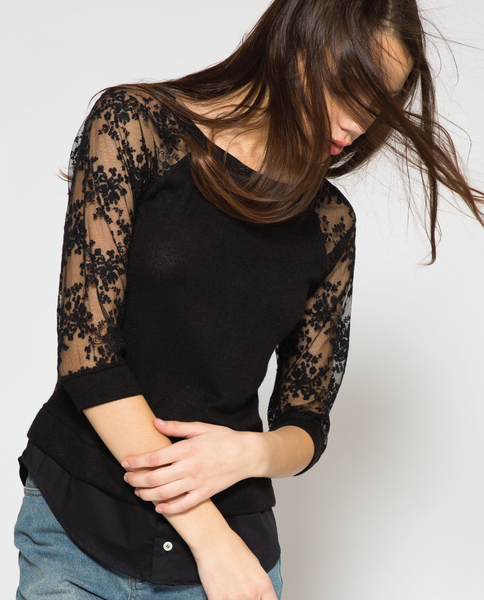 Sloane Top in Black