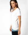 Suzillie Tee in White