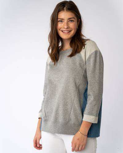 Trinity Sweatshirt in Grey Mix