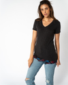 Willow Tee in Black Mix