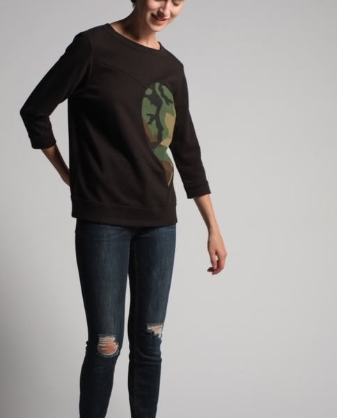 Zelda Sweatshirt in Black