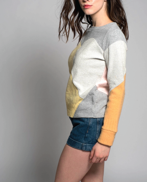 Abril Sweater in Grey